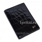 Обложка WANLIMA для паспорта натуральная кожа цвет чёрный 10x14см/9035